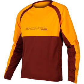 Endura MT500 Burner II LS Jersey Men mandarin